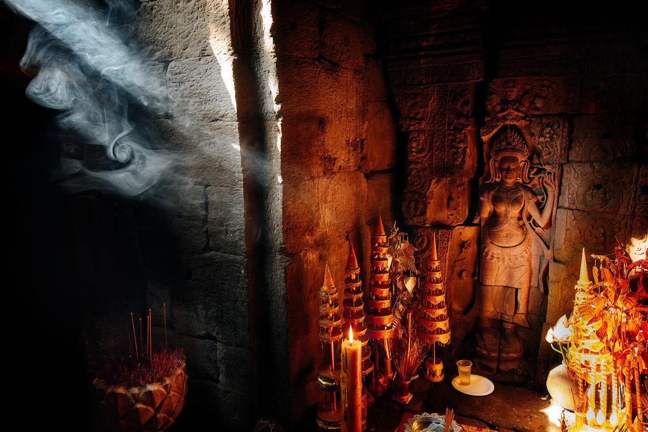 Devata in Preah Khan temple