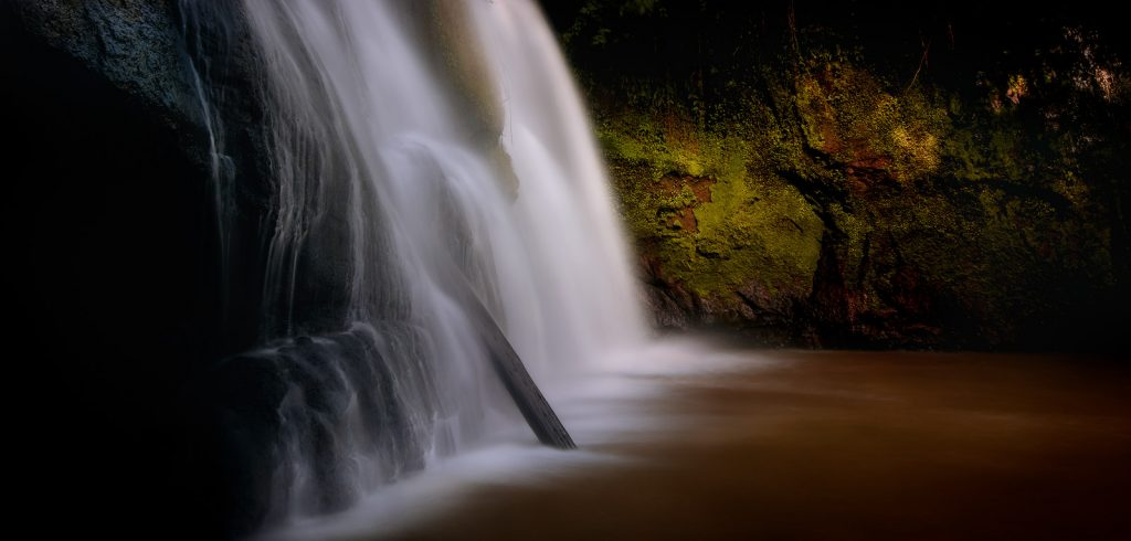 Waterfall long exposure from Cambodia