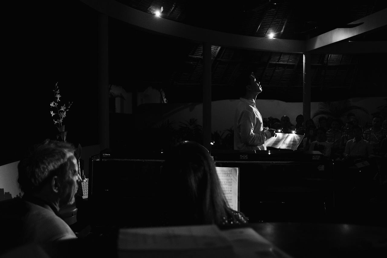 opera singer in Siem Reap