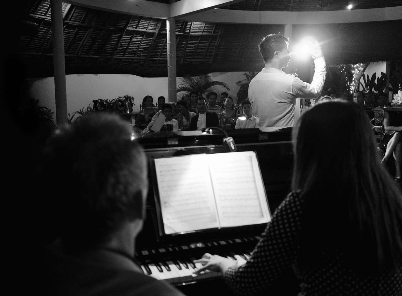 Baritone singing in Cambodia