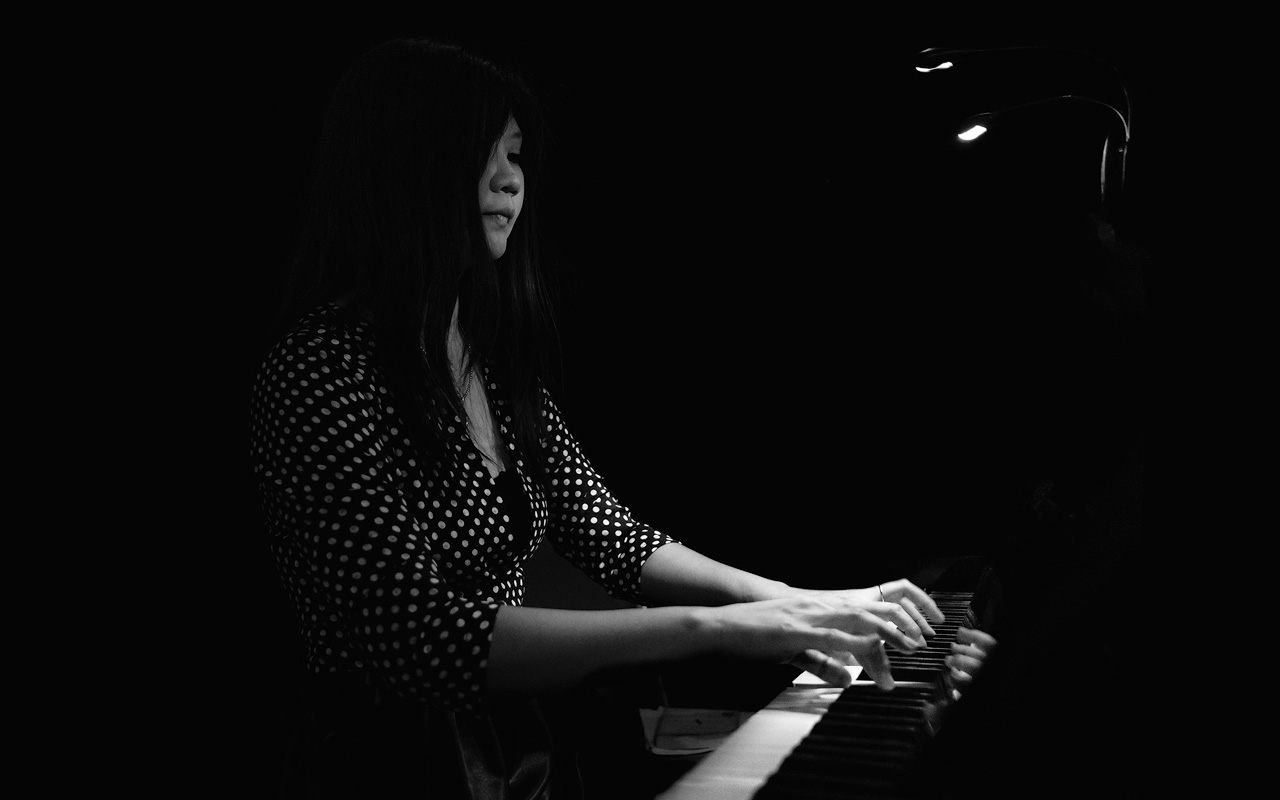 Natalya Khon, classical musician, on piano